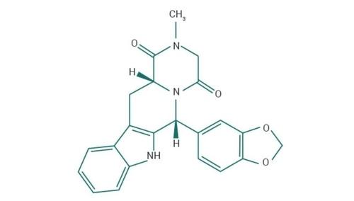 Composition chimique du tadalafil